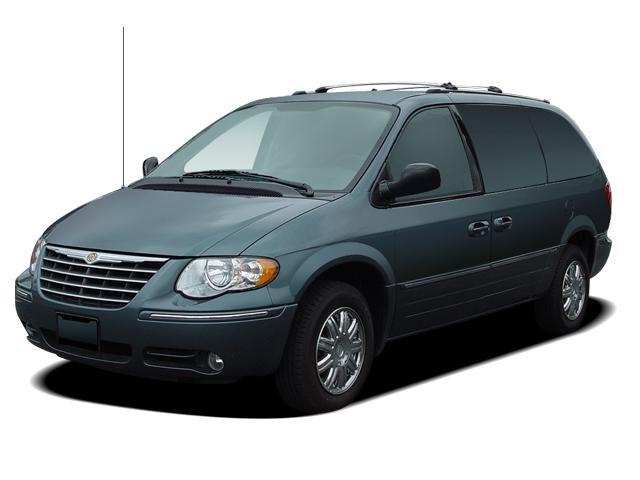 2005 Green Van